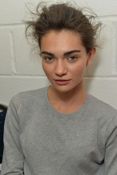 Brows in Focus at the Tom Ford Show [Photo by James Mason]