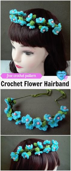 One of this week's Featured Favorites at the Link & Share Wednesday Link Party is: Crochet Flower Hairband-  Free Crochet Pattern from Crochet for You.  Get the free crochet pattern right here: