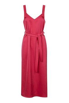 Hammered Satin Slip Dress by Boutique