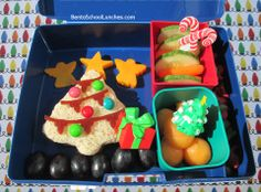 Bento Lunch: Christmas Tree. #bento #thelunchpunch @laptoplunches #Christmas