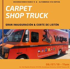 Ya tenemos el poster para subirlo a las redes! se lo pasamos a muchisimas personas para que asistieran a la gran apertura del truck. ya casi estaba finalizadooooo, después de tanto, nuestro truck seria inaugurado :D #truck #fashiontruck #sueño #goal #work #idea #innovación #decoracionesrubios #carpetshoptruck #decorandoconrubios #alfombrasvíarápida #tijuana #bajacalifornia #México Baja California Mexico, Grand Opening, Dream Come True, Solar Power, Aperture, Rugs, People