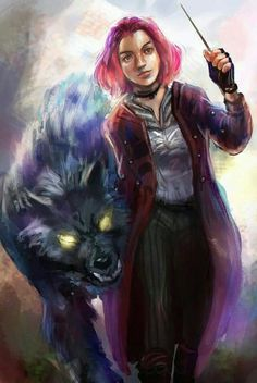 Sirius and Tonks << not sure if that's supposed to be Sirius or Remus..?
