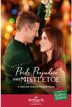 "Find video, photos and cast information for the Hallmark Channel original movie ""Pride, Prejudice, and Mistletoe"" starring Lacey Chabert and Brendan Penny. Hallmark Filme, Películas Hallmark, Films Hallmark, Hallmark Holiday Movies, Xmas Movies, Hallmark Channel, Great Movies, Movies Box, Movies Free"