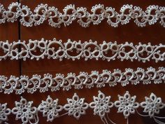 Tatting edgings - I saw a lady demoing this at the fair this year. I HAVE to try it!! Looks easier than I thought it would be.