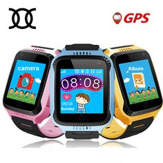 TWOX Q528 Y21 Touch Screen Kids GPS Watch with Camera Lighting smart watch  phone Location SOS 975f093a30