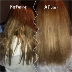 My results from one use of renu hair mask!  Feel free to use pics x