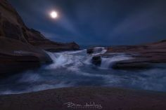 Photo Moonlit Tides. by Brian Adelberg on 500px