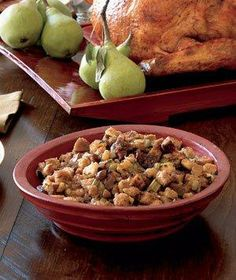 Chestnut-Fig Stuffing recipe