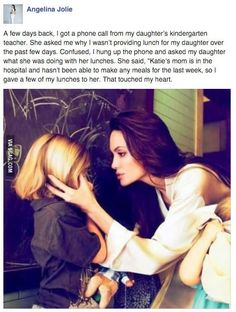 Angelina Jolie's Daughter Faith In Humanity Sweet Stories, Cute Stories, Happy Stories, Sad Love Stories, Beautiful Stories, Beautiful Artwork, Retro Humor, Human Kindness, Touching Stories