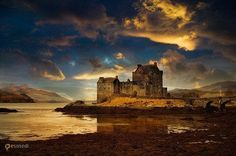 Замок Эйлен-Донан – #Великобритания #Шотландия (#GB_SCT) Замок Эйлен-Донан - самый романтичный замок Шотландии. http://ru.esosedi.org/GB/SCT/1000112760/zamok_yeylen_donan/
