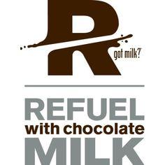 chocolate milk - post run drink