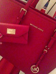 MICHAEL Michael Kors Hamilton Two-Tone Leather Satchel