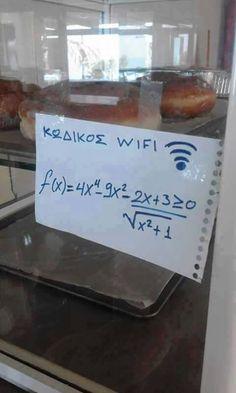 wifi password.  those crazy greeks.