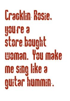 Neil Diamond - Cracklin' Rosie - song lyrics, songs, song quotes, music lyrics, music quotes