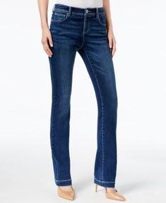 INC International Concepts Curvy-Fit 5-Pocket Bootcut Jeans, Created for Macy's | macys.com