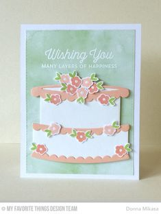 Twice the Wishes Card Kit - Donna Mikasa  #mftstamps