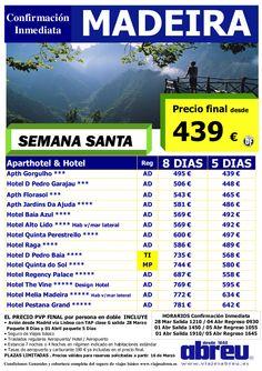 Ssanta ULTIMAS plazas Madeira desde Madrid salida 01 Abril ultimo minuto - http://zocotours.com/ssanta-ultimas-plazas-madeira-desde-madrid-salida-01-abril-ultimo-minuto/