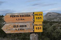 Ruta 151 Els Arcs. #CastellDeCastells. Interior #Alicante, #CostaBlanca, #España #Spain, #Senderismo #naturaleza #nature