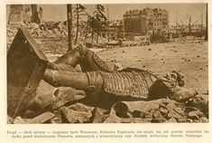 Kolumna Zygmunta, 1945 (Warszawa  Stolica Polski, Społeczny Fundusz Odbudowy Stolicy, 1949)