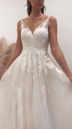 The HALANI gown in Ivory by Madi Lane Bridal wedding dresses blake lively gowns The HALANI gown by Madi Lane Bridal 2015 Wedding Dresses, Country Wedding Dresses, Bridal Dresses, Wedding Gowns, Wedding Dresses Poofy, Open Back Wedding Dress, Boho Wedding Dress, Lace Wedding, Mermaid Wedding