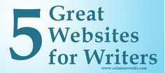 5 Great Websites for Writers