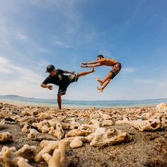 Photo of the Day! @antoxerror kicking it on the beach with his boy, getting that…