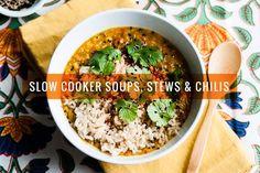 http://ohmyveggies.com/17-satisfying-vegetarian-slow-cooker-soups-stews-chilis/