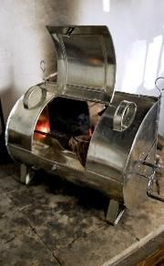 Tin Kitchen Reflector Oven In 2020 Tin Open Fire Cooking