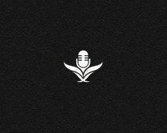 Icon Microphone Logo Designs