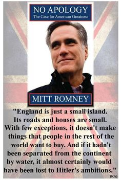 When he finally does give us his opinion, Romney is astoundingly snobbish, nasty and divisive.