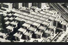 Herman hertzberger (with Lucas and Niemeyer): Centraal Beheer Office Building, Apeldoorn, NL, 1972 Open Office, Amsterdam, Key Projects, Master Plan, Dezeen, Urban Design, Interior Architecture, Contemporary Architecture, Interior Design