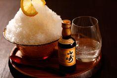 ウイスキーかき氷「みぞれ山崎」が京都の屋上ハイボールガーデン「空床」で限定発売