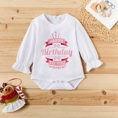 Check out this great stuff I just found at PatPat! Short Strapless Prom Dresses, Matching Family Outfits, Baby Outfits Newborn, Latest Fashion For Women, Boy Fashion, Kids Outfits, Happy Birthday, Baby Bodysuit, Sweatshirts