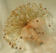 Crystal Bouquet - Swarovski Crystal Wedding Bouquets-Boutonnieres-Corsages
