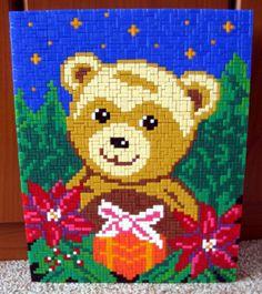 Teddy im Paket