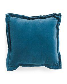 Made+In+India+18x18+Velvet+Pillow