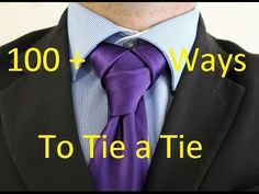 How To Tie a Tie Hyrule Knot - YouTube