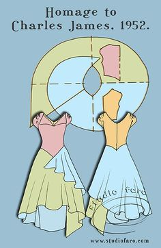 well-suited: Pattern Puzzle - Homage to Charles James