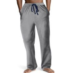SALE Hanes Men/'s Pant Jersey front Pockets Sweat Workable Drawstring S-3XL