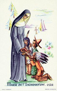 Saints – Page 4 Woodland Indians, Saints Days, 18th Century Clothing, Canada, Religious Education, Little Flowers, Writings, Quebec, Genealogy