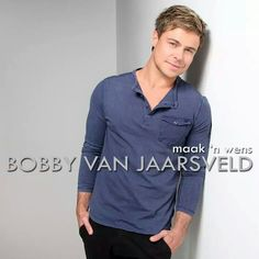 Bobby Van Jaarsveld Hot Blondies, Bobby, Van, Celebs, My Love, Long Sleeve, Mens Tops, Drop, Hairstyles