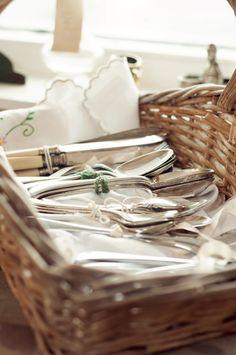 Vintage cutlery flatware Rosie Loves Vintage