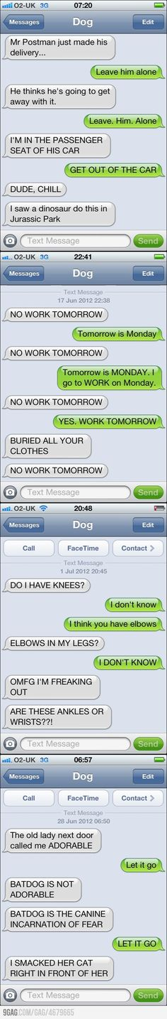 Texts from dogs the last one killed me