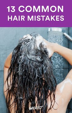 13 Ways You Dont Realize Youre Damaging Your Hair http://greatist.com/live/healthy-hair-tips