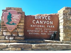 We start at the beginning of our Bryce Canyon trip