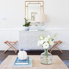 This light and pretty spot by @studiomcgee is just lovely. Want to see how we'd recreate it for less? Go ahead...double tap to vote! #CopyCatChic