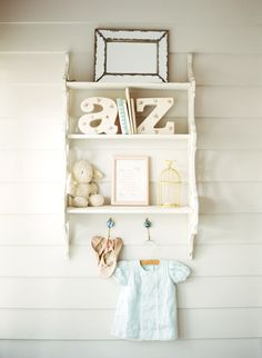 Shabby Chic Nursery + Get the Look