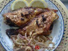 Πολύ νόστιμο ψάρι, ελαφρύ και υγιεινό! Εύκολο και πιστεύω ότι ακόμη και αυτοί που δεν αγαπούν τα ψάρια, θα το φάνε με ευχαρίστηση!