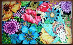 WEBSTA @ femis84 - #peterpan #fabianaattanasio #colouring #coloringbook #coloringforgrownups #derwent #derwentinktense #inktense
