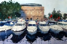 Yachts Gathering, Bristol Harbour Festival by Tim Wilmot, UK